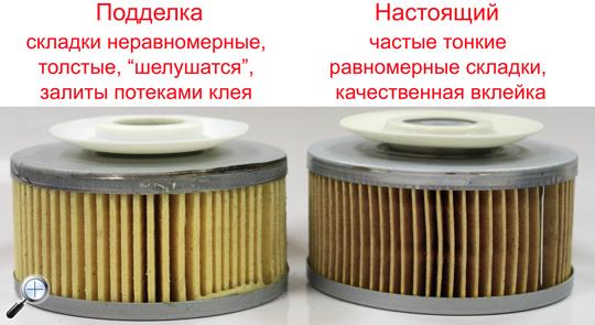 mann filter poddelka манн фильтр подделка складки