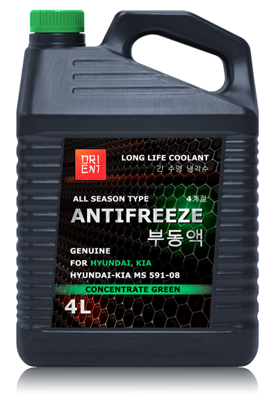 antifreeze hyundai kia антифриз orient 4 литра концентрат