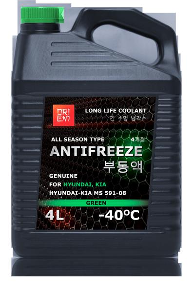 antifreeze hyundai kia антифриз orient 4 литра