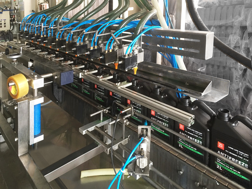 антифриз для Hyundai KIA производится в Корее на заводе сборочная линия